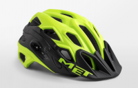 Шлем велосипедный MET Lupo safety yellow / black 54-58