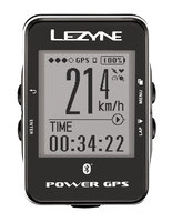 Компьютер LЕZYNЕ POWER GPS, серебристый, Велокомпьютер с GPS датчиком 29 функций