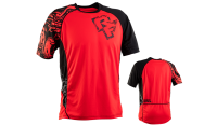 Велофутболка RACE FACE INDY JERSEY-SS-FLAME/BLACK