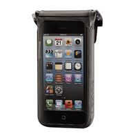 Органайзер LEZYNE SMART DRY CADDY 6 черный, WATER PROOF PHONE CADDY, WORKS WITH IPHONE 6, QR MOUNTING BRACKET