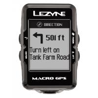 Компьютер LEZYNE MACRO GPS черный