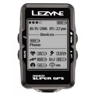 Компьютер LEZYNE SUPER GPS черный
