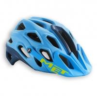 Шлем велосипедный MET Lupo cyan / petrol blue