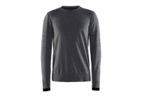 Пуловер Craft Smooth Roundneck Man black/melange