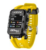 Часы-велокомпьютер Lezyne Micro Color GPS Watch Желтый