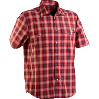 Рубашка RACE FACE SHOP SHIRT-GREY/RED PLAID-MEDIUM