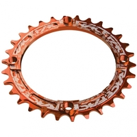Звезда RaceFace CHAINRING,NARROW WIDE,104bcd,orange