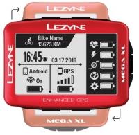 Компьютер Lezyne MEGA XL GPS LIMITED RED EDITION