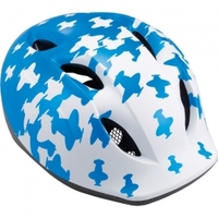 Шлем MET Super Buddy white/blue airplanes