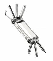 Мультитул Lezyne SV - 7, серебристый, Алюминиевые ручки, биты из нержавеющей стали