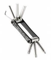 Мультитул Lezyne V - 7, черный, Алюминиевые ручки, хром ванадиевые биты