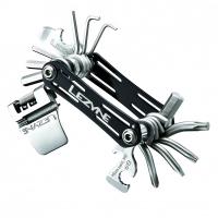 Мультитул RAP - 20, черный, Алюминиевые ручки, биты из нержавеющей стали, выжимка цепи