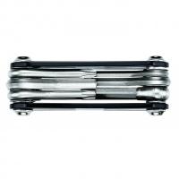 Мультитул Lеzynе RAP - 6, черный, Алюминиевые ручки, биты из нержавеющей стали