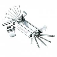 Мультитул BLOX - 23, серебристый, Алюминиевые ручки, биты из нержавеющей стали, выжимка цепи