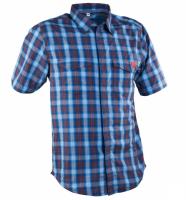 Рубашка RaceFace SHOP SHIRT-BLUE/NAVY PLAID