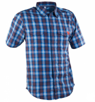 Рубашка RaceFace SHOP SHIRT-BLUE/NAVY PLAID