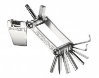 Мультитул Lezyne SV - 11, серебристый, Алюминиевые ручки, биты из нержавеющей стали, выжимка цепи