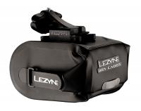 Подседельная сумочка LEZYNE POD CADDY QR - M, черный, WATER PROOF, ROLL ENCLOSURE, COMPOSITE MATRIX SEAT-RAIL MOUNT, QUICK RELEASE (QR) BAG DISCONNECT SYSTEM