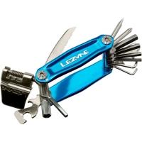 Мультитул Lеzynе STAINLESS - 20, голубой, Алюминиевые ручки, биты из нержавеющей стали, выжимка цепи, нож