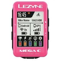 Велокомпьютер Lezyne Mega C GPS LIMITED PINK EDITION