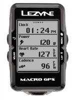 Компьютер Lezyne MACRO GPS HR LOADED Черный