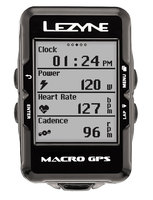 Велокомпьютер Lеzynе MACRO GPS HRSC LOADED Черный