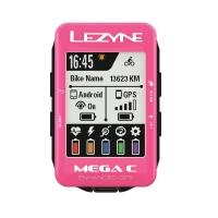 Велокомпьютер Lezyne MEGA С GPS  Розовый