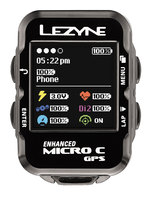 Велокомпьютер Lеzynе MICRO COLOR GPS HRSC LOADED Черный