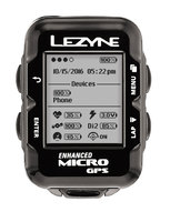 Компьютер Lezyne MICRO GPS HRPS UNIT, HEART RATE SC LOADED Черный