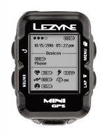 Компьютер Lezyne MINI GPS HR LOADED Черный