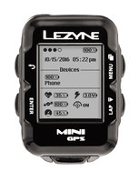 Компьютер Lеzynе MINI GPS HR LOADED Черный