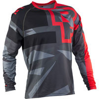 Велофутболка RaceFace RUXTON JERSEY-RED