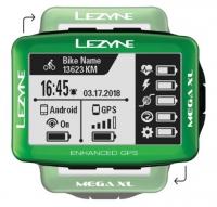 Компьютер Lezyne MEGA XL GPS LIMITED GREEN EDITION