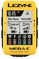Велокомпьютер Lezyne Mega C GPS Limited Yellow Edition