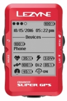 Велокомпьютер Lezyne Super GPS Limited Red Edition