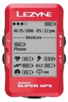 Велокомпьютер Lezyne Super GPS Limited Red Edition