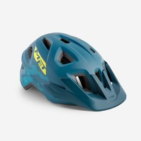 Шлем MET Eldar petrol blue camo