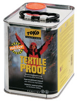 Интенсивная пропитка для спортивной высококачественной и функциональной одежды Tоkо Textile Proof 2500ml