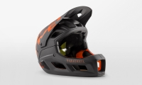 Шлем MET PARACHUTE MCR MIPS CE BLACK ORANGE | MATT