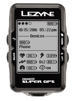 Компьютер Lеzynе SUPER GPS HR LOADED черный