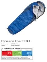 Спальный мешок Deuter Dream Lite 300 цвет 1100 cobalt-midnight правый