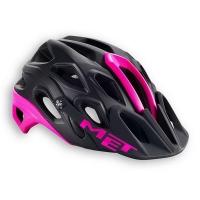 Шлем велосипедный MET Lupo black / fuchsia 59-62