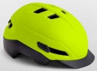Шлем MET Grancorso glossy safety yellow