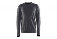 Пуловер Craft Smooth Roundneck Man black/melange