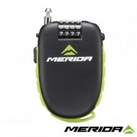 Замок Merida Retractable Cable Lock 120cm 1,6mm 4 Digits