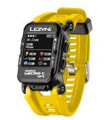 Часы-велокомпьютер Lezyne Micro Color GPS Watch Желтый