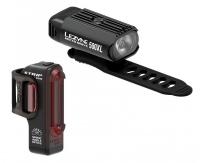 Комплект світла Lezyne HECTO DRIVE 500XL / STRIP PAIR Чорний/Чорний 500/150 люменівів Y13