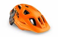 Шолом MET Eldar CE Orange Octopus | Matt UN
