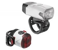 Комплект світла Lezyne LED KTV DRIVE / FEMTO USB PAIR Білий 220/5 люменів Y13