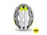 Шлем Met Vinci MIPS Gray Safety yellow   Glossy